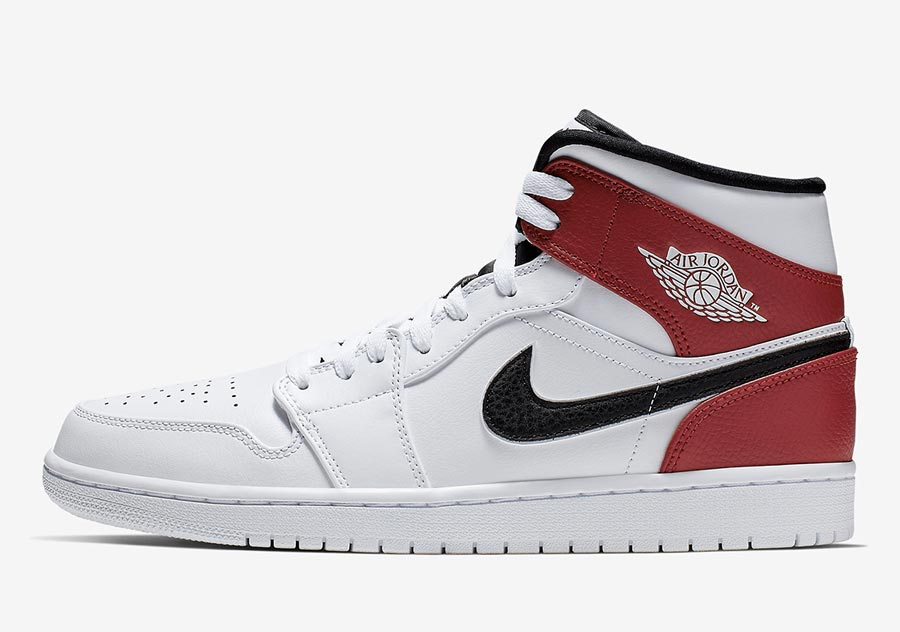 air jordan rouge avec scratch