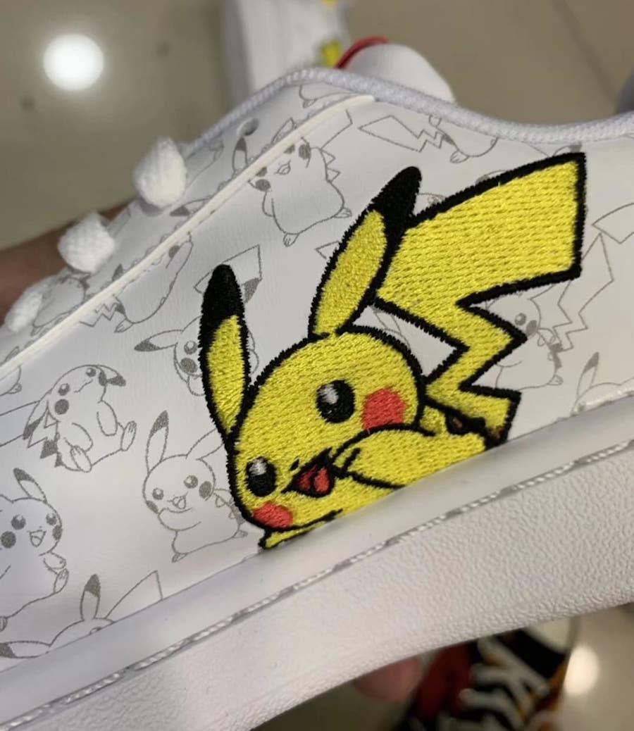 Pokemon : Baskets Adidas, Pikachu, Carapuce Millenium