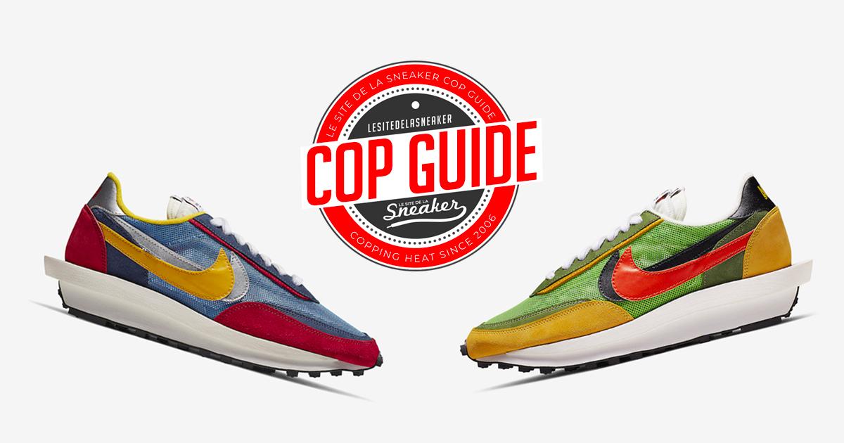 buy best official images good texture Comment cop les Sacai x Nike LDV Waffle ? - Le Site de la ...