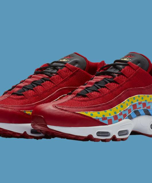 cheap for discount 8b204 1e450 Nike Air Max 95 Gym Red