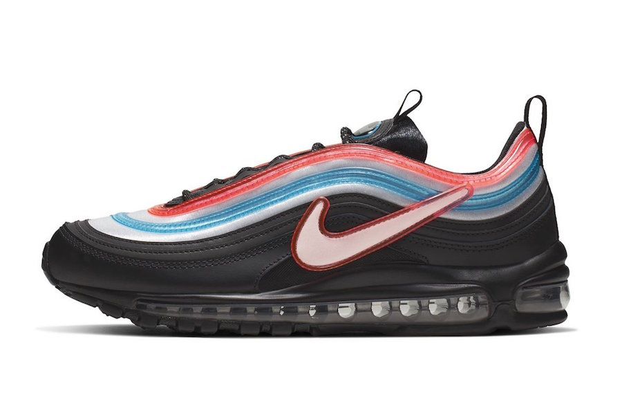 NIKE AIR MAX 97 OA GS ''ON AIR: SEOUL'' BLACK REFLECT SILVER