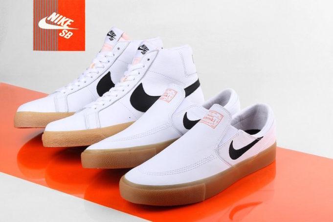 Nike SB dévoile un Orange Label White Gum Pack Le Site de