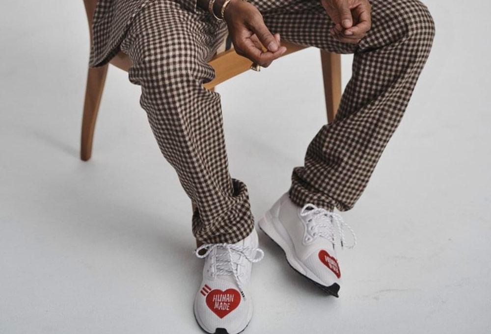 Pharrell dévoile la adidas SolarHU Glide ST