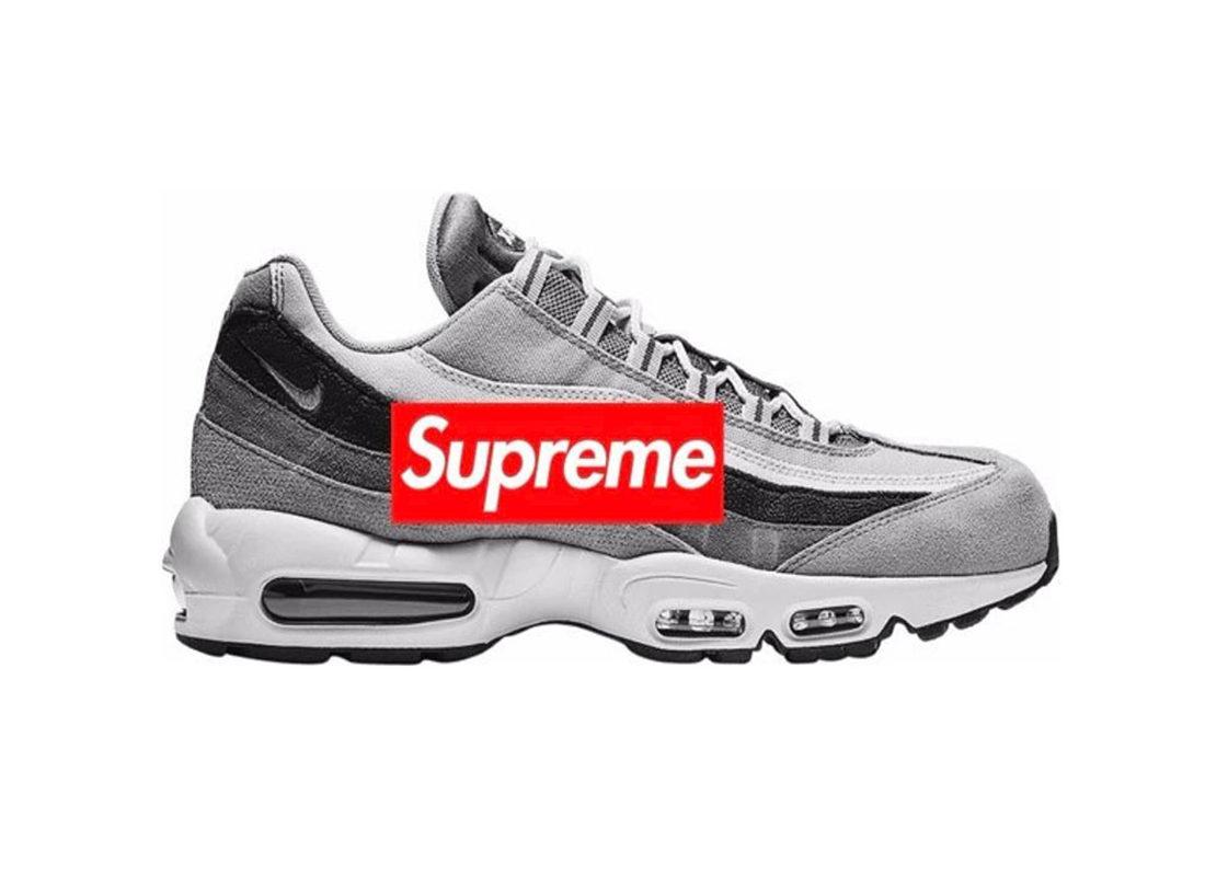 Trois Supreme x Nike Air Max 95 Lux Swarovski à venir Le
