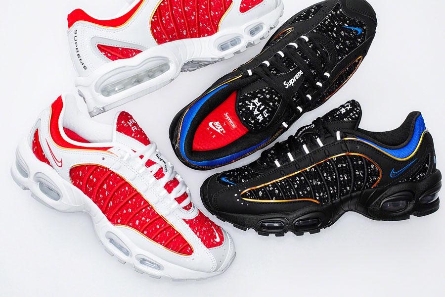 Nike AIR Max Tailwind IVS 'Supreme' AT3854 100: