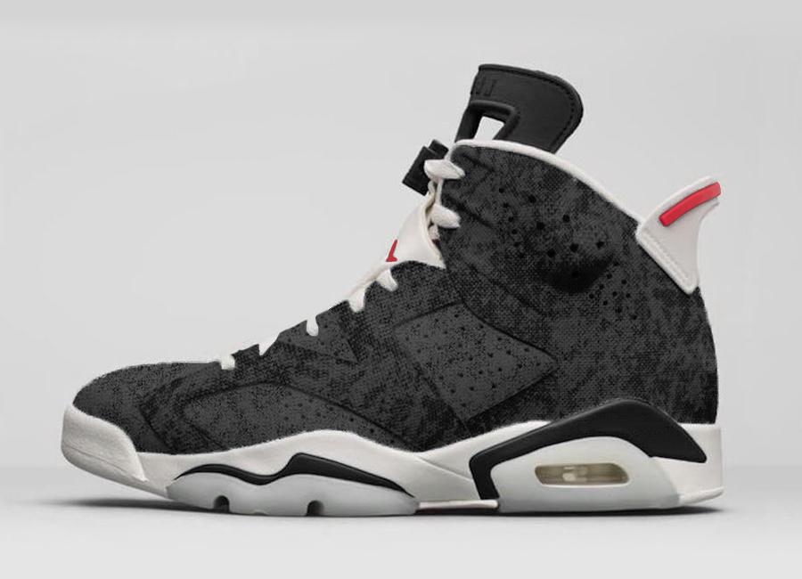 ffef51c723e0 La sortie des Air Jordan 6 Black Washed Denim serait prévue pour le samedi  28 décembre 2019 sur Nike.com