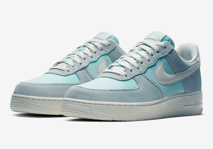 nike air force 1 bleu clair