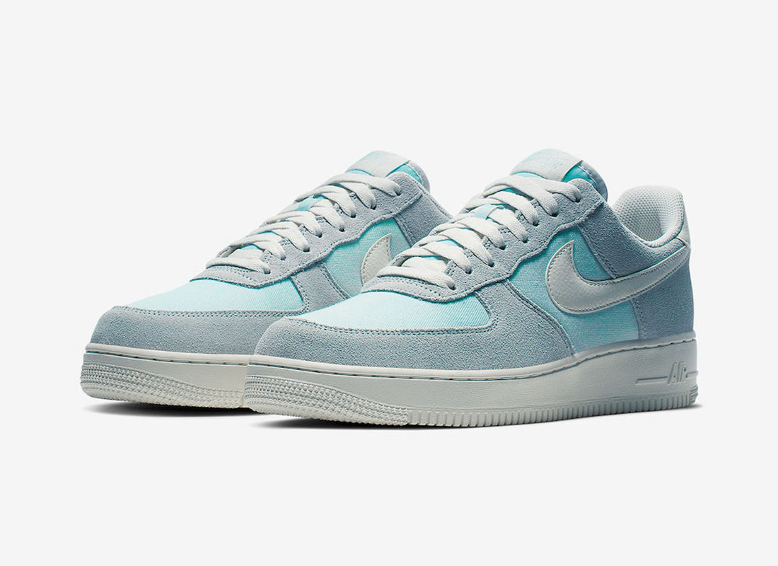 revendeur 4c735 2ec5c Preview: Nike Air Force 1 Low Ghost Aqua/Sail - Le Site de ...