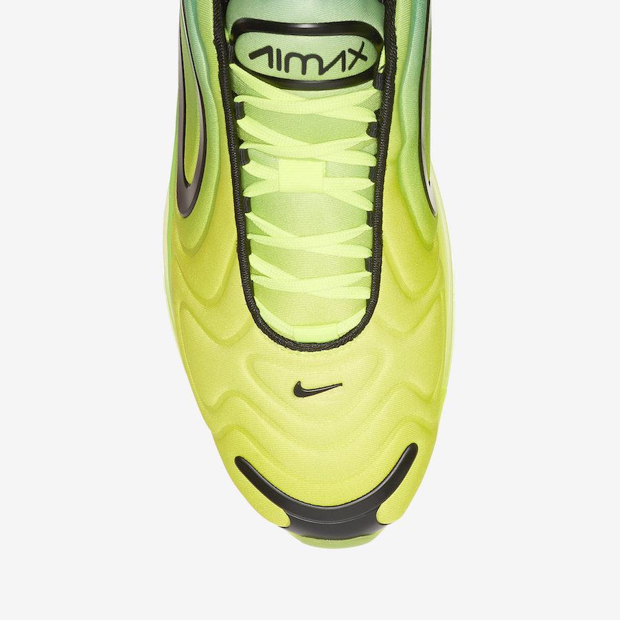 nike air max 720 jaune vert
