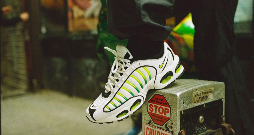 5dd53f50b8 Nike Air Max Tailwind 4 White Volt - Le Site de la Sneaker