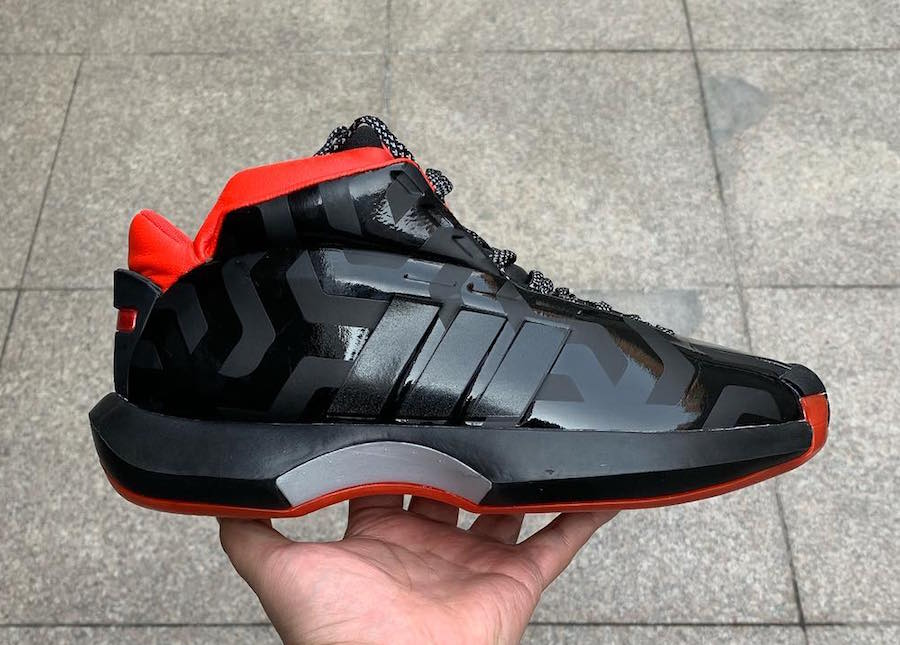 """Preview: Star Wars x adidas Crazy 1 """"Galactic Empire"""" Le"""