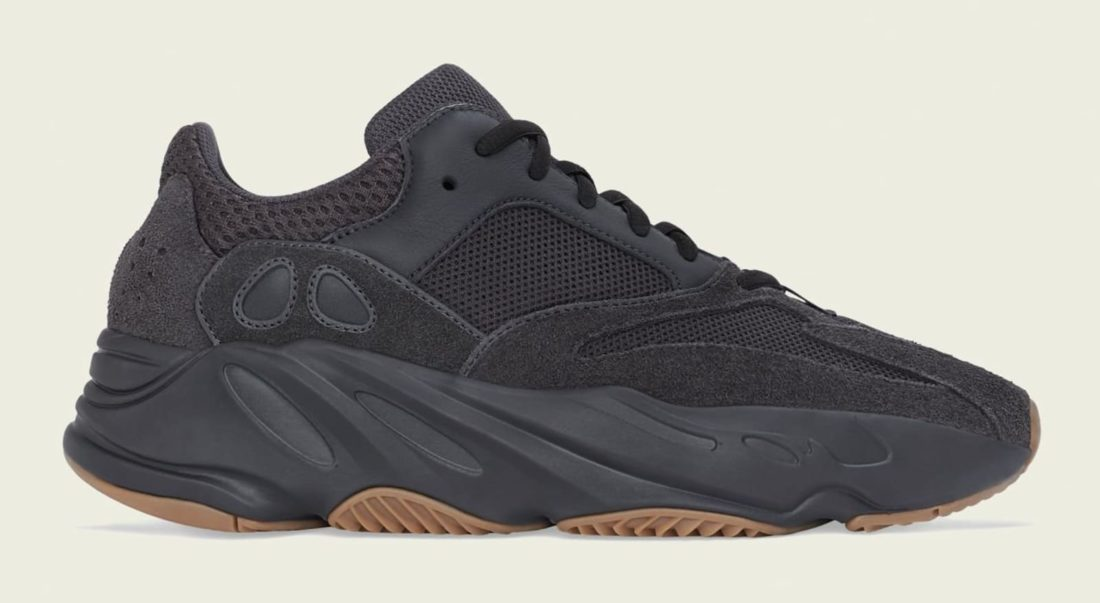 half off c7220 bcf33 Preview: adidas Yeezy Boost Wave Runner 700 Utility Black ...