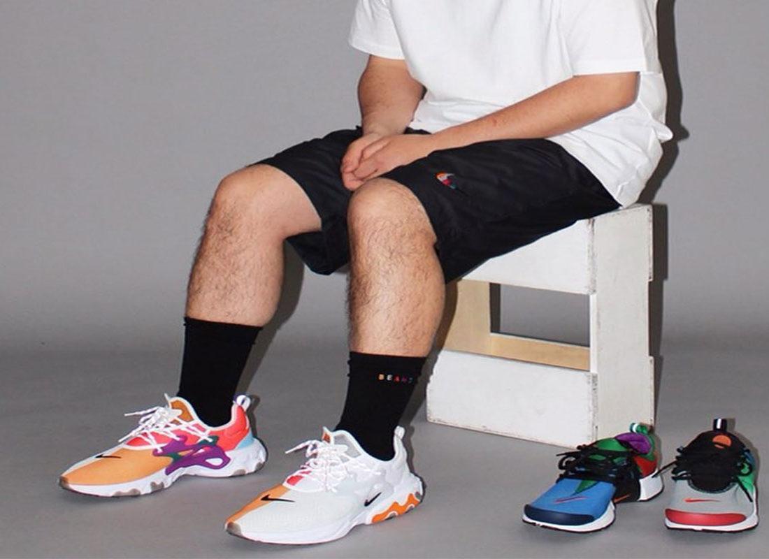 best selling more photos best prices BEAMS revisite la Nike Presto React - Le Site de la Sneaker
