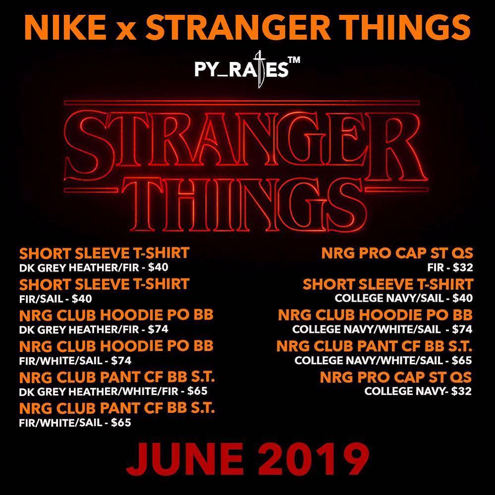 Une collection Nike x Stranger Things sortira cet été Le