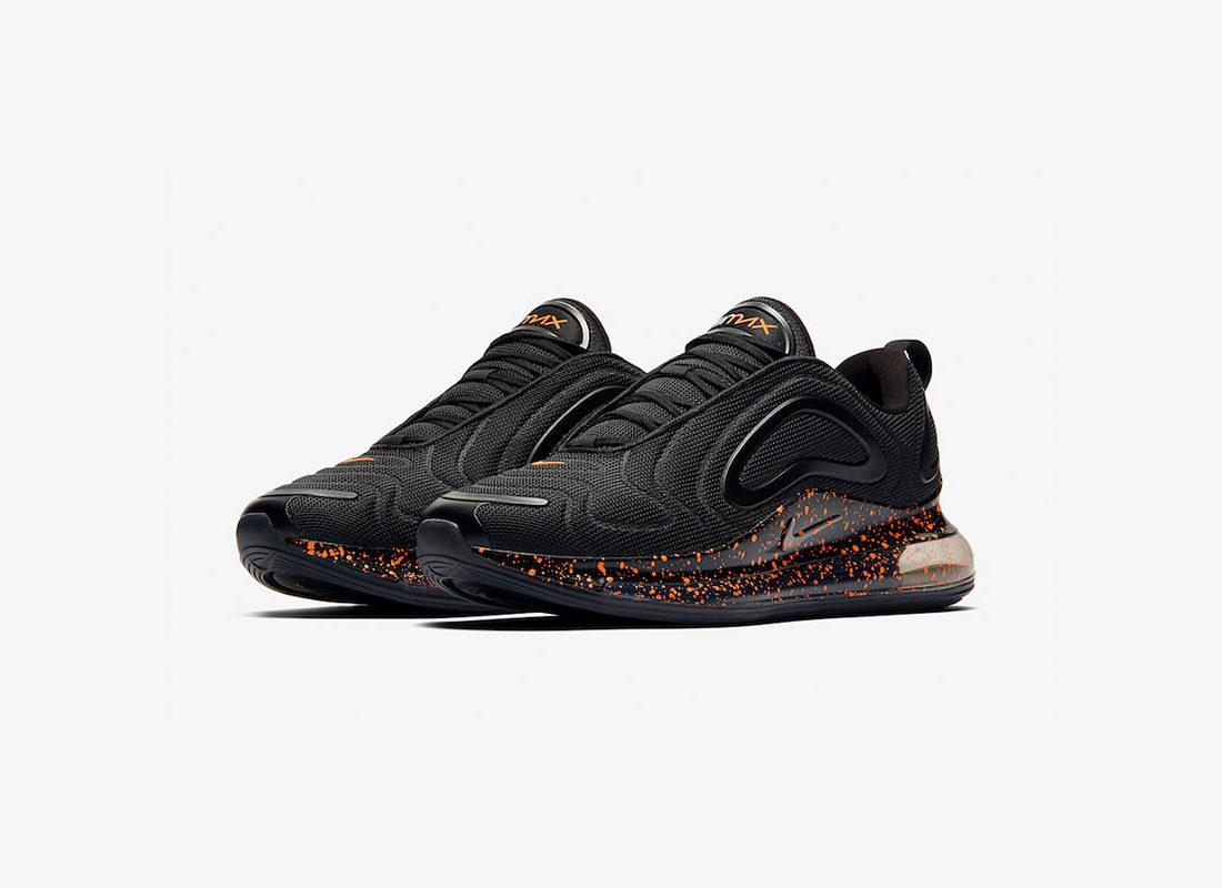 en soldes 9f3ca 4d713 Preview: Nike Air Max 720 Black Orange Speckle - Le Site de ...