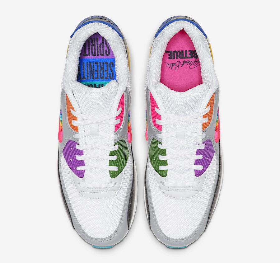 Nike Air Max 90 BETRUE Rainbow Swoosh