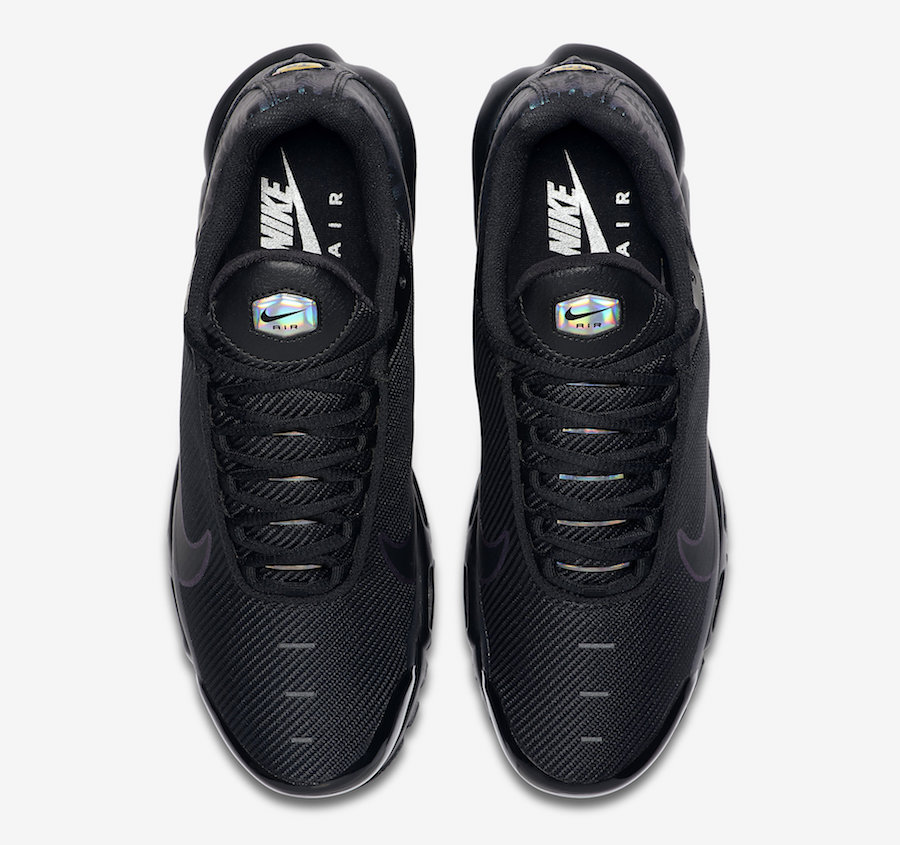 Nike Air Max Plus Just Do It Black Iridescent CJ9697 001