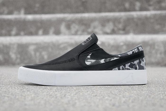 chaussures slip on nike sb