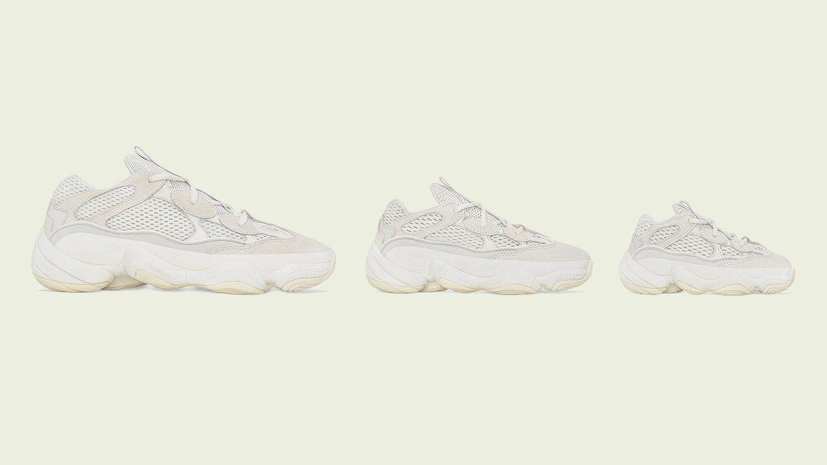 cheaper c439a e1c5f adidas Yeezy 500 Bone White