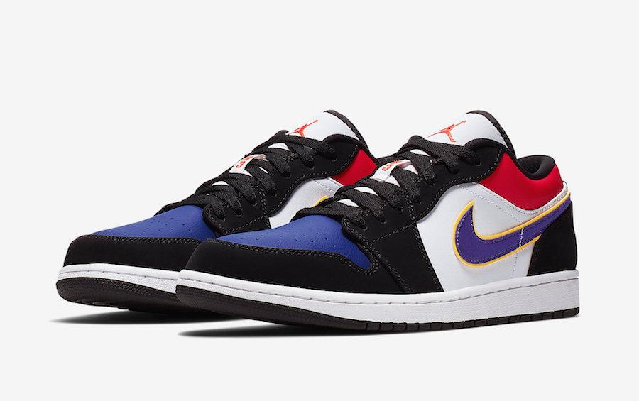 Une Air Jordan 1 Low