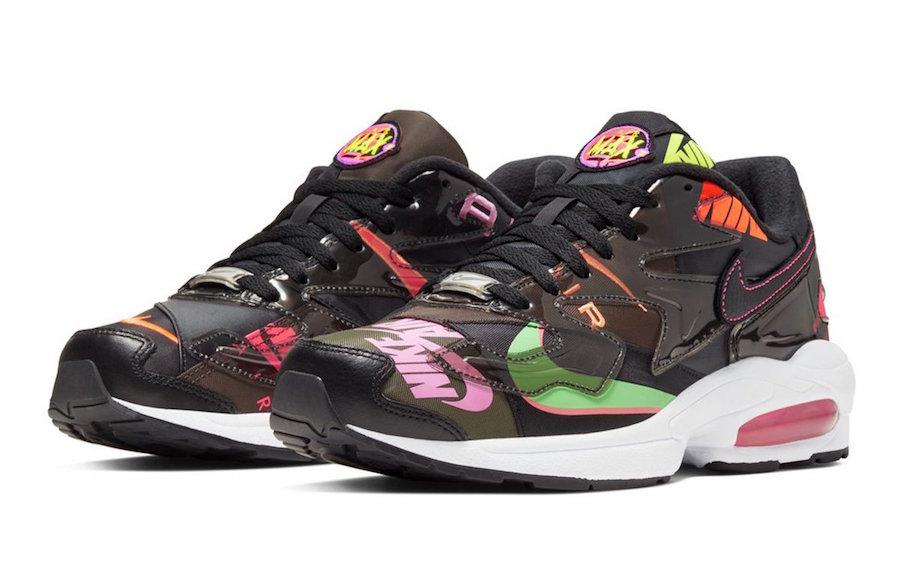 Une atmos x Nike Air Max2 Light Black à venir - Le Site de ...