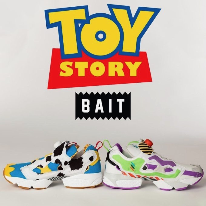 Pack PreviewBait Instapump Fury Le Reebok X Toy Story 4 HED29I