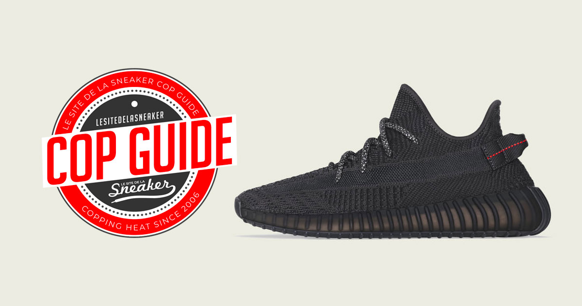 best prices look out for united kingdom Comment cop la adidas Yeezy Boost 350 V2 Black ? - Le Site ...