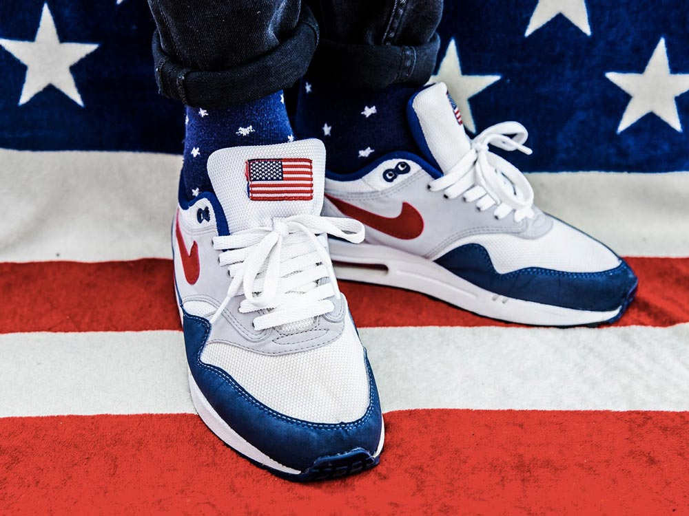 acheter populaire 9bd09 32d9e Nike Air Max 1 '4th Of July'