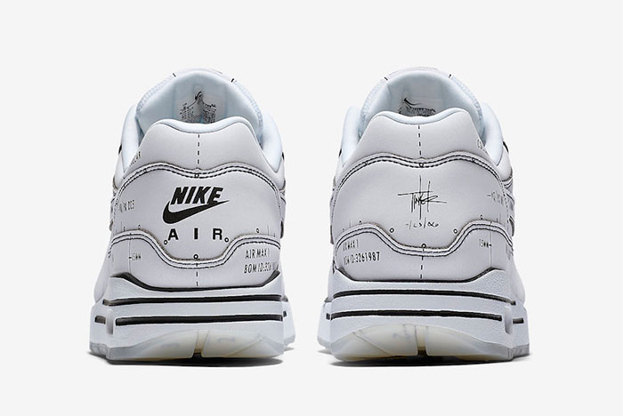 Nike Air Max 1 'Schematic Not For Resale' White