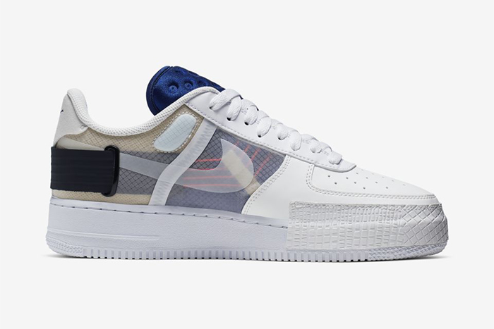 Nike Air Force 1 Low Drop Type Summit White