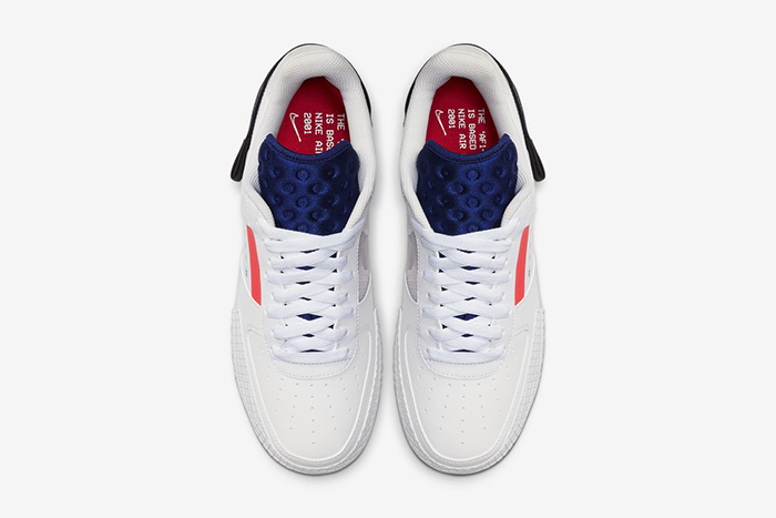 Nike Air Force 1 Low Drop Type Summit White