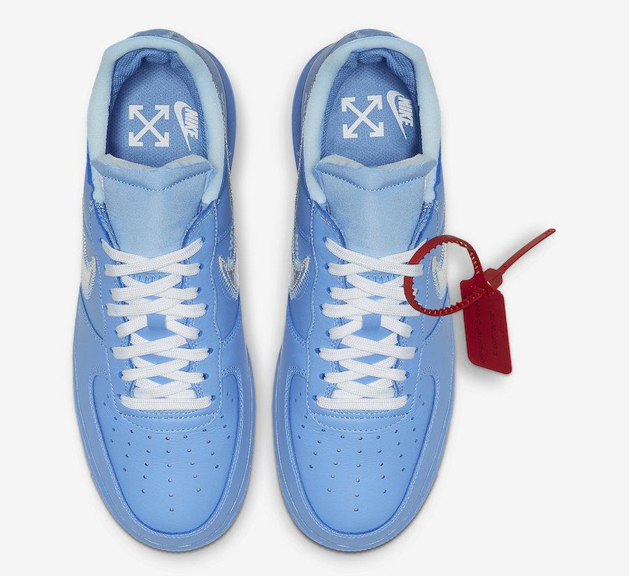 air force one bleu off white