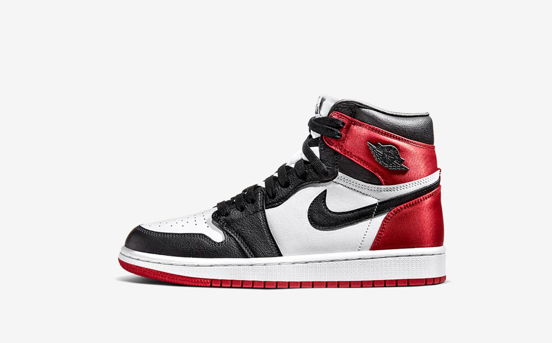 Air Jordan 1 Satin WMNS Black Toe