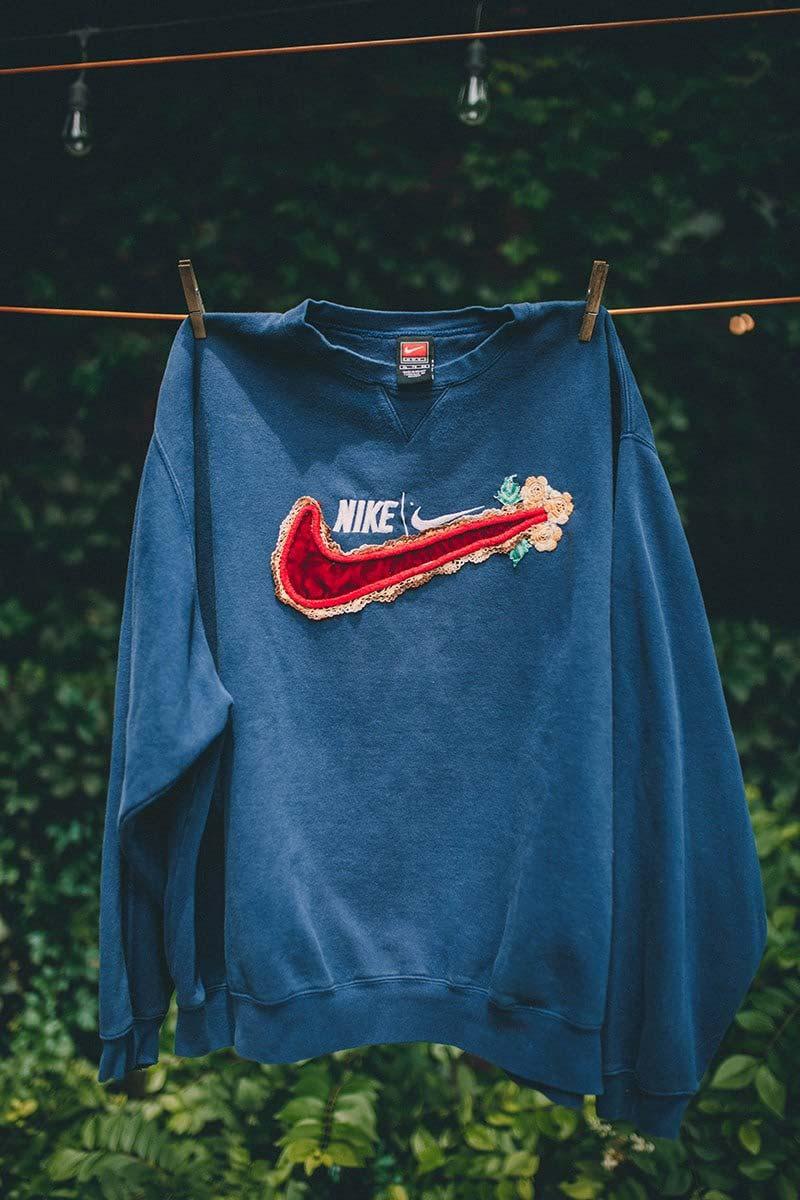 Bentgablenits Nike Vintage Crew Neck Sweaters Le Site de