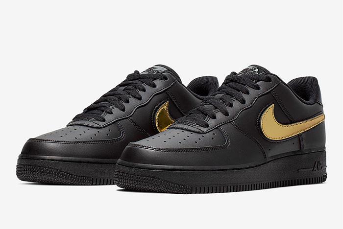 Preview: Nike Air Force 1 Removable Swoosh Pack Le Site de