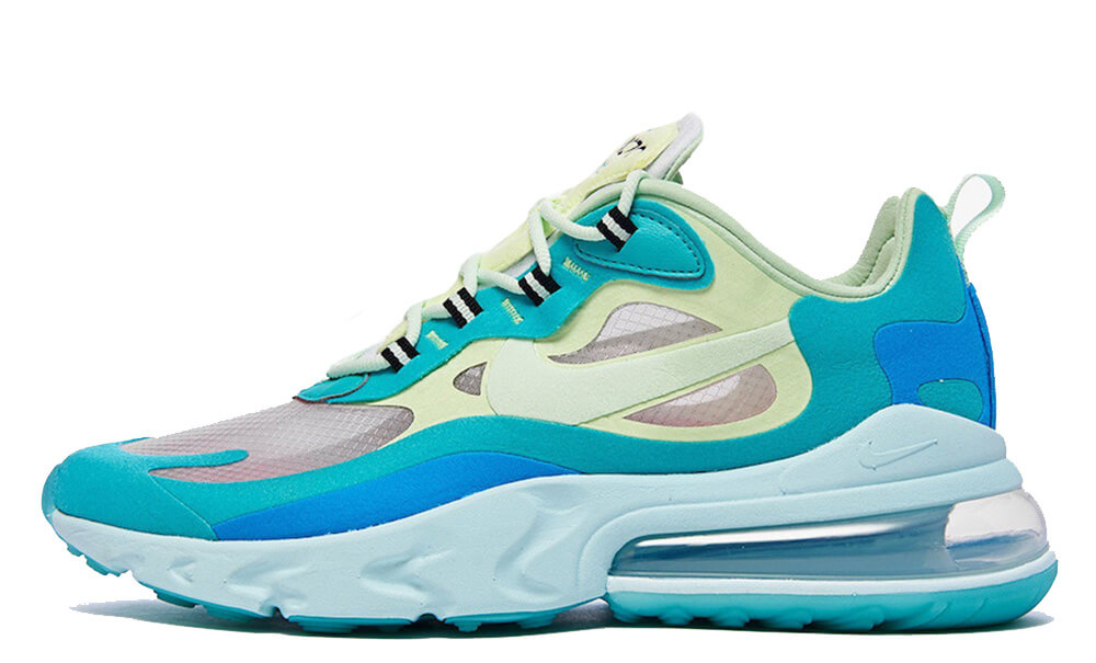 Nike Air Max 270 React Hyper Jade