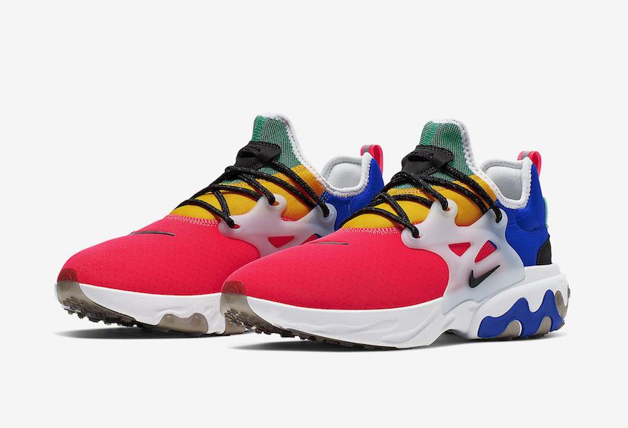 La Nike React Presto débarque dans une version multicolore - Zemeds