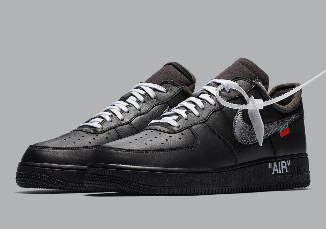 La Off White x Nike Air Force 1 MOMA va t elle ressortir