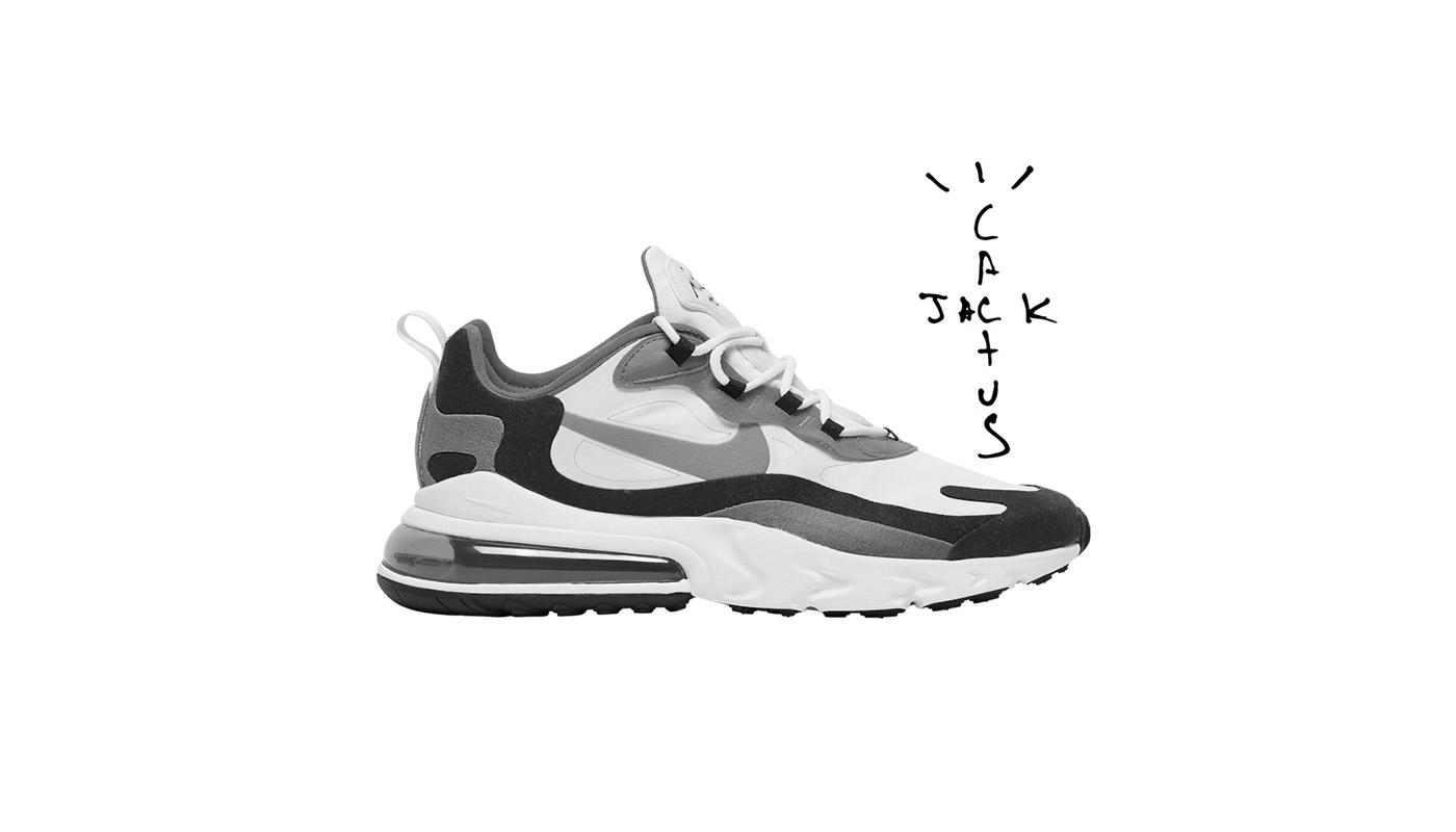 Une Travis Scott x Nike Air Max 270 React pour 2020 Le