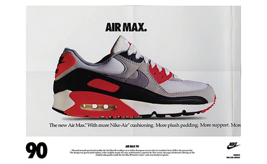 La Nike Air Max 90 OG Infrared de retour en 2020 Le Site