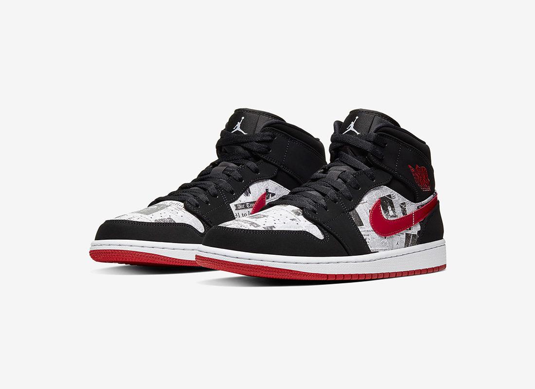 Mid Le Newspaper La Jordan 1 Se PreviewAir Sneaker Site De FKTl1Jc