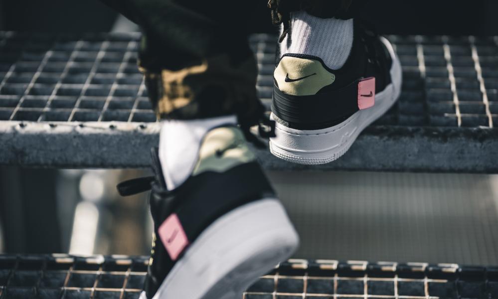 Nike Air Force 1 Low ''Type'' ''BlackAnthracite'' Sneaker
