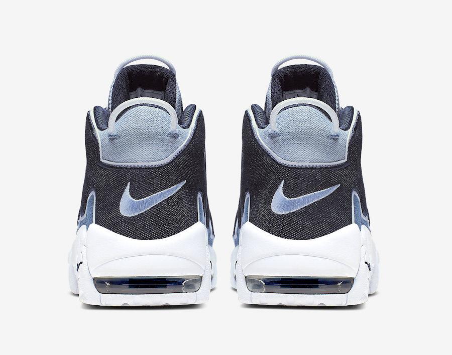 Nike Air More Uptempo Denim Le Site de la Sneaker