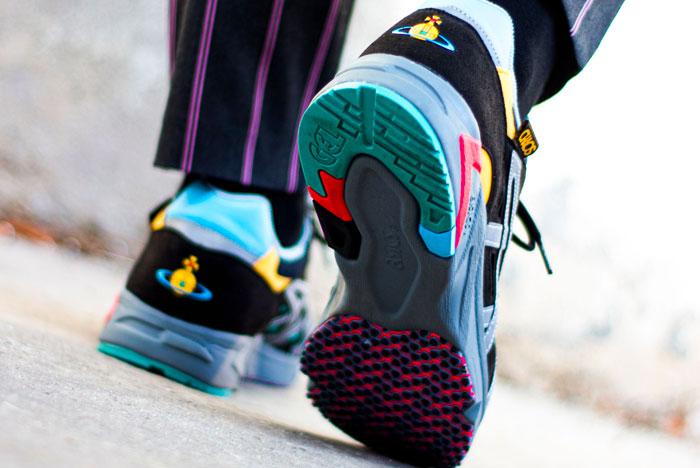 Lengua macarrónica Aceptado Agarrar  Vivienne Westwood x Asics Gel-DS Trainer - Le Site de la Sneaker