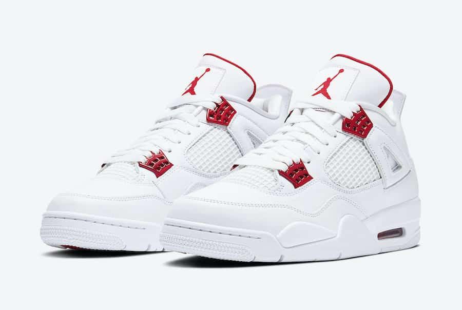 Air Jordan 4 Red Metallic - Le Site de la Sneaker