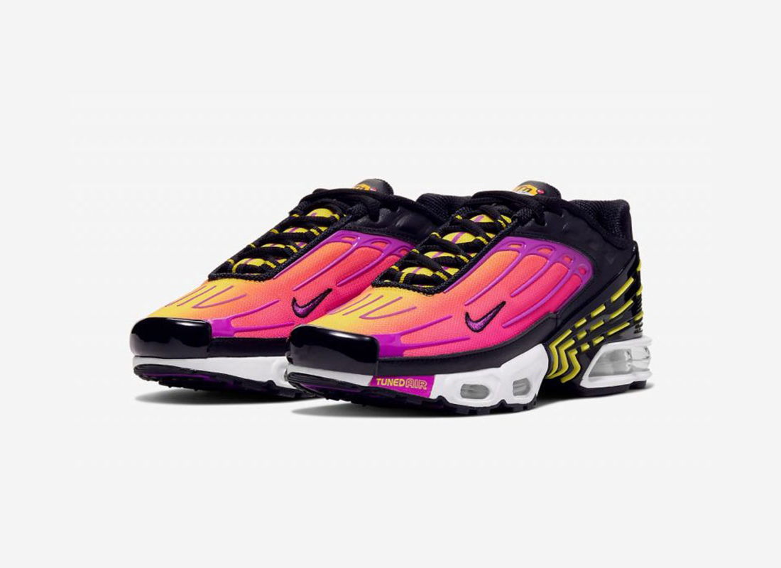 competitive price 359bc 985bc Preview: Nike Air Max Plus 3 GS Hyper Purple - Le Site de la ...