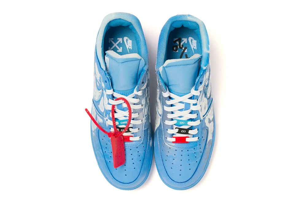 Virgil Abloh x MCA Chicago x Cassius Hirst x Nike Air Force