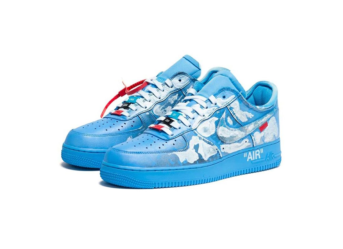 super populaire 4b976 117ad Virgil Abloh x MCA Chicago x Cassius Hirst x Nike Air Force ...