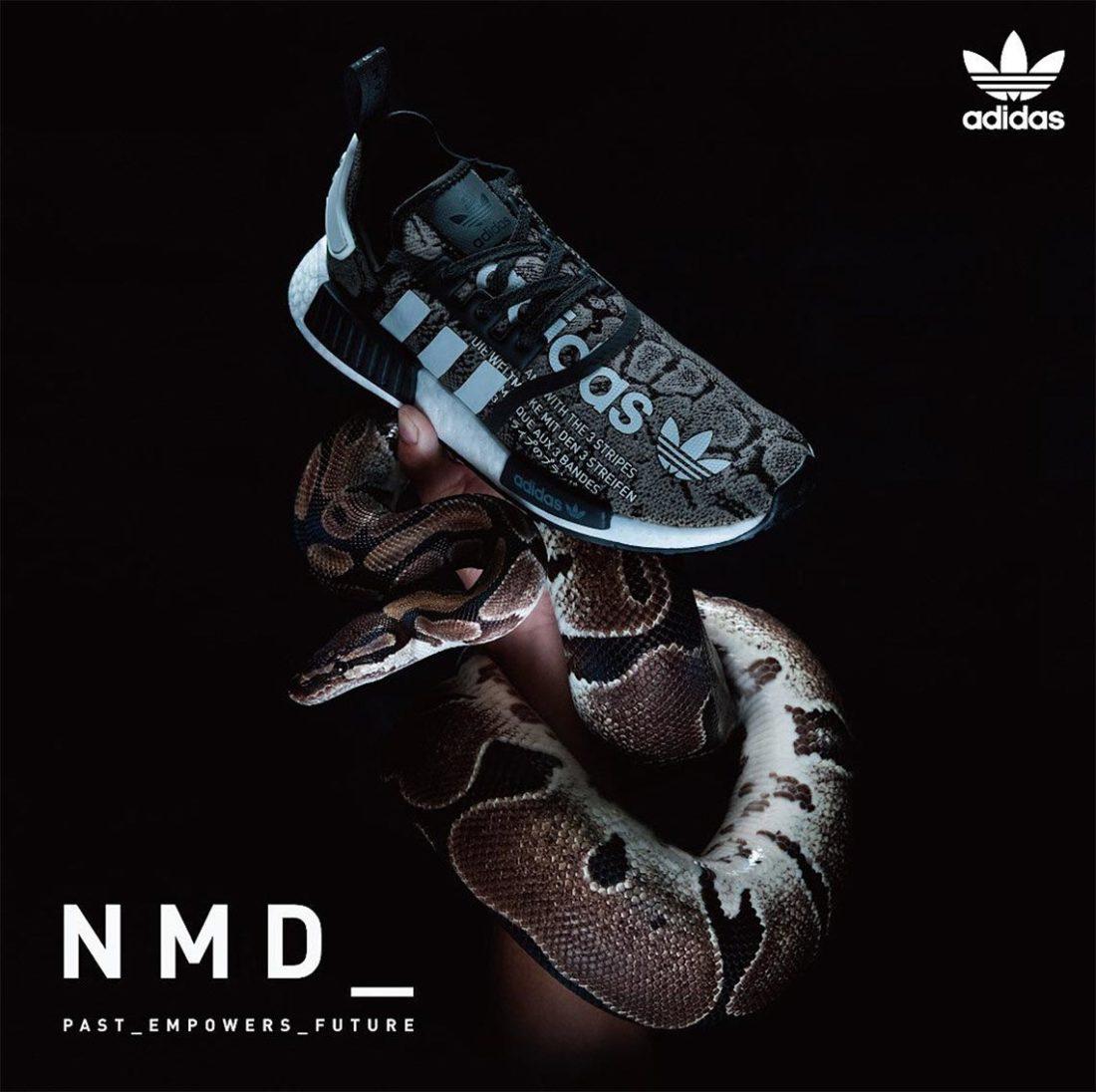 atmos pink: adidas Originals NMD_R1 W (Adidas originals