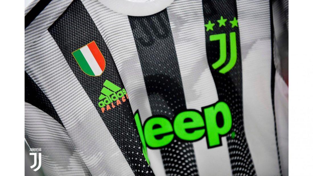 La Juventus a désormais un maillot Palace x adidas ! Le
